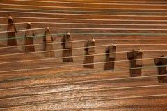 Instrumentos populares - cítara Imagenes de archivo