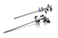 Instrumentos quirúrgicos Foto de archivo
