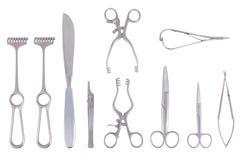 Instrumentos quirúrgicos Imagenes de archivo