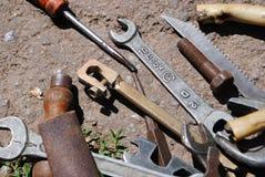 Instrumentos variados Imagem de Stock Royalty Free
