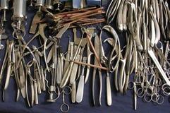 Instrumentos velhos Imagem de Stock