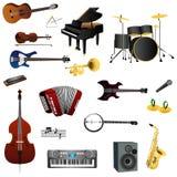 Instruments illustration libre de droits