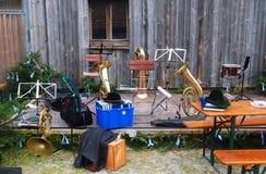 Instruments abandonnés Photos libres de droits