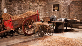 Instruments agricoles traditionnels Photographie stock libre de droits