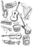 Instruments Background Stock Photography