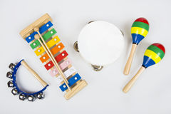 Instruments for children Stock Photography