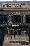 Instruments d'habitacle d'avion Images libres de droits