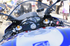 Instruments de la moto Image stock