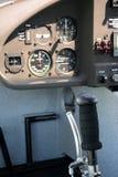 Instruments de manche et de vol Images libres de droits