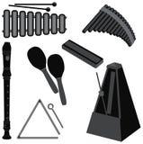 Instruments de musique Images stock