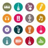 Instruments de musique illustration libre de droits
