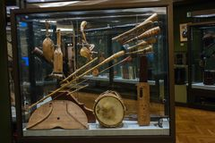 Instruments de musique antiques Photos libres de droits
