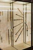 Instruments de musique de vent Photo stock
