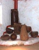 Instruments de percussion de Hamdmade image libre de droits