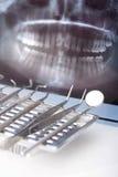 Instruments dentaires Images libres de droits