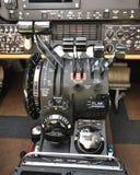 Instruments et commandes de vol des aéronefs Images libres de droits