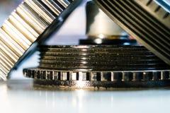 Instruments et mécanismes images stock