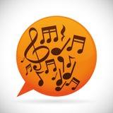 Instruments et notes de musique Photos libres de droits