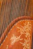Instruments folkloriques - cithare Photos libres de droits
