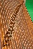 Instruments folkloriques - cithare Images libres de droits