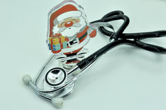 Instruments médicaux et carte Images libres de droits