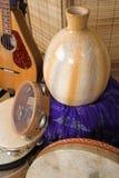 Instruments musicaux Photographie stock libre de droits