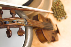 Instruments musicaux photo stock