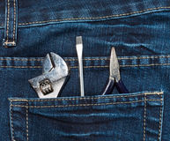 Instruments in pocket Stock Photos