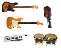 Instruments réglés Photographie stock