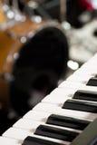Instruments sur l'étape Photographie stock