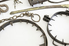 Instruments of torture from the Inquisition Stock Photos