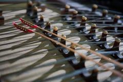 instrumentu chiński musical obraz stock