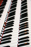 instrumentu musicalu pianino Obraz Stock
