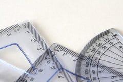 instrumenty matematycznie Obrazy Stock