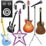 instrumenty muzyczne ilustracja wektor