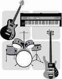 instrumenty muzyczne Obrazy Royalty Free