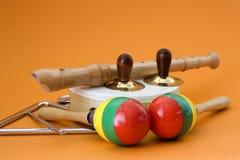 instrumenty muzyczni Obraz Stock