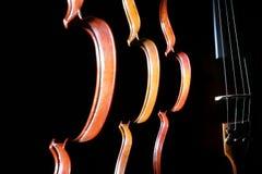 Instrumenty muzyczni skrzypcowi zdjęcia stock