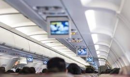 Instrução de segurança do vôo Fotos de Stock