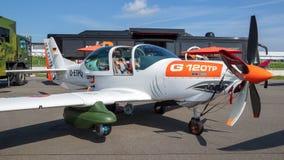Instrutor Aircraft de Grob G 120TP Fotos de Stock Royalty Free
