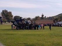 Instrutor do helicóptero fotos de stock royalty free