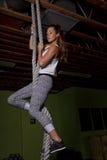 Instrutor fêmea novo Trainer da aptidão Foto de Stock Royalty Free