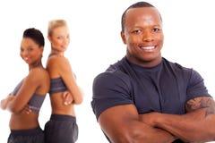 Instrutor pessoal africano Imagens de Stock Royalty Free