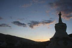 Instytut Tybetański buddyzm w Chiny Obraz Stock
