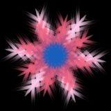 Insubtansial fireworks vector illustration