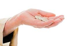 Insufficient pension Stock Photos