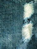 Insuffisances de jeans Image stock