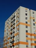 Insulated block of flats Stock Photography