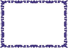 Insulated frame background template for certificate Royalty Free Stock Photo