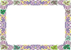 Insulated frame background template for certificate Royalty Free Stock Image